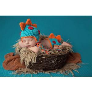 【メール便/送料無料】恐竜 コスチューム 寝相アート ベビー服 着ぐるみ 新生児 赤ちゃん 出産祝い|sky-sky