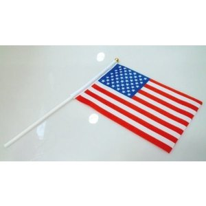 【メール便 送料無料】手旗 アメリカ / 手旗 国旗 アメリカ 世界 ミニ 国旗 手旗|sky-sky