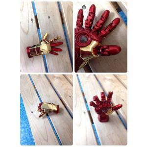 【メール便 送料無料】iron man hand usb flash drive アイアンマン【right HAND】右手 USB2.0フラッシュメモリ 8GB|sky-sky
