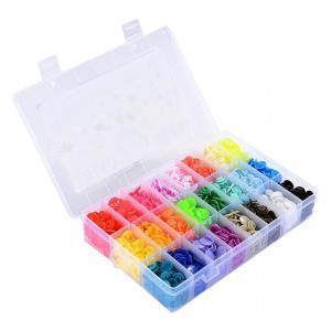 【送料無料】UNCLE JOEプラスナップ  プラスチック スナップ ボタン 360組 24色 T5...