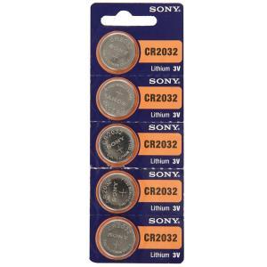 【メール便 送料無料】SONY ソニー リチウムボタン電池 CR2032 5個入シート|sky-sky