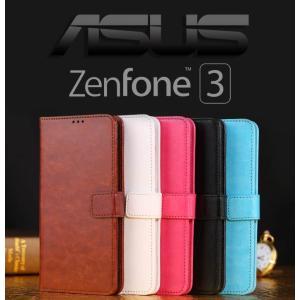 Asus Zenfone 3 ZE520KL (5.2インチ)  ZE552KL(5.5インチ)  ZS570KL(5.7インチ)  手帳型 ケース カバー ゼンフォン3 手帳型 カバー ケース sky-sky