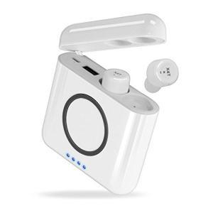Bluetooth イヤホン ワイヤレスイヤフォン 両耳 X4T ワイヤレス充電通話可 モバイルバッテリー機能 マイク内蔵 iPhone Android 対応|sky-sky