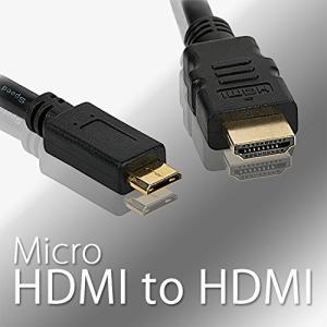【高速マイクロHDMIケーブル】高速Micro HDMIケーブルは、さまざまなHDMI機器をすばやく...