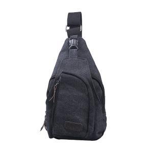 斜め掛けショルダーバッグ シンプル キャンバスバッグ 通勤 通学 アウトドア 旅行 かばん 鞄|sky-sky