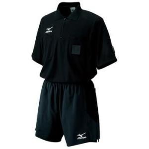 ミズノ(MIZUNO)レフリーシャツ ブラック sky-spo