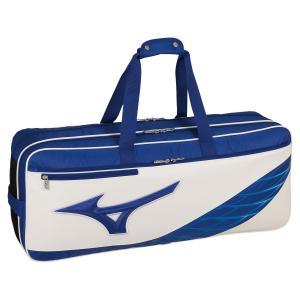 MIZUNO ミズノ トーナメントバッグ バドミントン ブルー×ホワイト 73JD951227