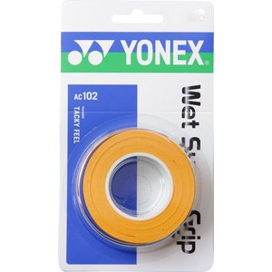 ヨネックス(YONEX) AC-102 ウェットスーパーグリップ オレンジ sky-spo