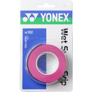 ヨネックス(YONEX) AC-102 ウェットスーパーグリップ ピンク sky-spo