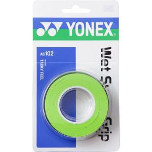 ヨネックス(YONEX) AC-102 ウェットスーパーグリップ シトラスグリーン sky-spo