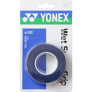 ヨネックス(YONEX) AC-102 ウェットスーパーグリップ ディープブルー sky-spo