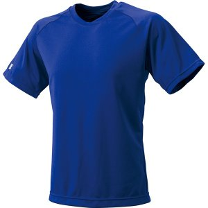 SSK エスエスケイ ベースボールT シャツ クルーネックTシャツ Dブルー 野球|sky-spo