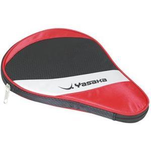 ヤサカ(YASAKA) スワールフルケース 卓球ラケットカバー/卓球ラケットケース レッド|sky-spo