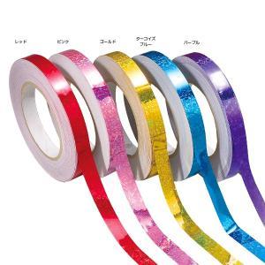 ササキ(SASAKI) 体操・新体操 カラーミラクルテープ(ホログラム加工) レッド