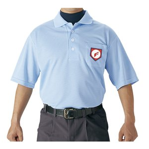 SSK(エスエスケー) 審判用半袖ポロシャツ(UPW027) パウダーブルー 野球|sky-spo