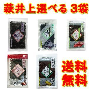 萩・井上商店のしそわかめ 選べる3袋!ゆうパケット・ネコポス便限定送料無料!|skyandblue
