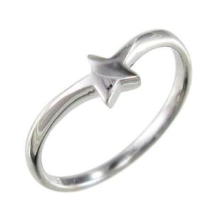 プラチナ900 星型 指輪 スタンダード|skybell-shop