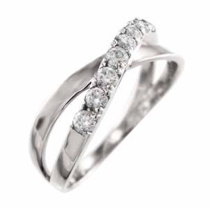 地金素材:k18ホワイトゴールド (品質を保証する刻印が入っています) 使用宝石:天然ダイヤ 約0....
