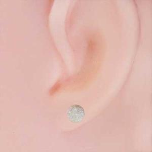 k18ホワイトゴールド 両耳 ピアス スタンダード 5mm珠 フラッシュボール キャッチ付 丸玉|skybell|02
