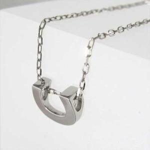白金(プラチナ)900 チェーン ペンダント 馬蹄 デザイン 地金 小サイズ|skybell|03