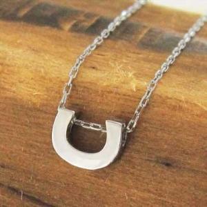 白金(プラチナ)900 チェーン ペンダント 馬蹄 デザイン 地金 小サイズ|skybell|05