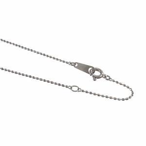 ペンダント ネックレス 5ストーン 十字架 ピンクトルマリン 10月誕生石 k10ホワイトゴールド|skybell