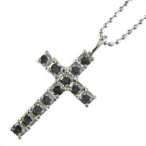 ブラックダイヤモンド ネックレス...