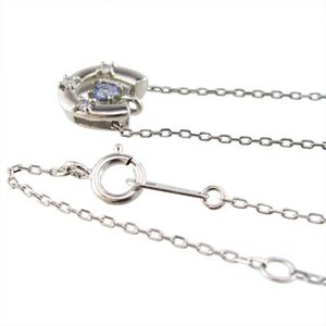 ジュエリー ペンダント 馬蹄タイプ タンザナイト ダイヤモンド Pt900 12月誕生石|skybell|03