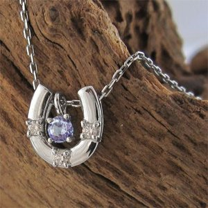 ジュエリー ペンダント 馬蹄タイプ タンザナイト ダイヤモンド Pt900 12月誕生石|skybell|05