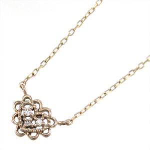ジュエリー ペンダント k10ピンクゴールド スイート ハート ダイヤモンド 4月誕生石|skybell