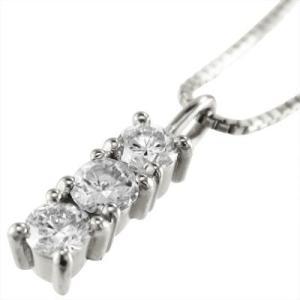 ジュエリーペンダント プレート 3石 天然ダイヤモンド プラチナ900 4月誕生石|skybell|03
