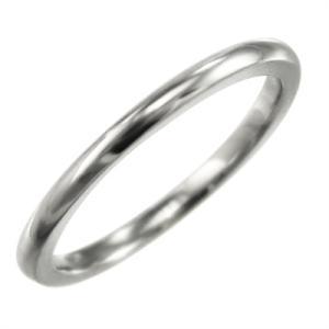 甲丸 指輪 スタンダード k10ホワイトゴールド 約1.4mm幅|skybell