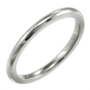 甲丸リング 小指 指輪 スタンダード プラチナ900 約1.4mm幅|skybell