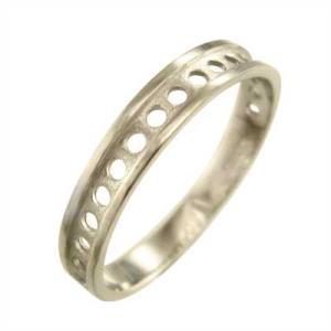 平打ち リング 小指 指輪 丸の型抜き スタンダード k10イエローゴールド 約3mm幅|skybell