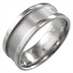 平らな指輪 メンズ 地金 k10...