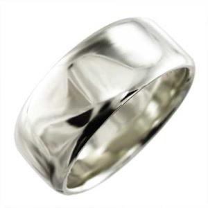 甲丸 指輪 メンズ 幅広 リング スタンダード 白金(プラチナ)900 約1cm幅 特大サイズ 厚さ...
