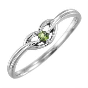 ペリドット 指輪 スウィート ハート 1粒 石 8月の誕生石 プラチナ900|skybell