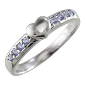 指輪 スウィート ハート タンザナイト 12月の誕生石 プラチナ900|skybell