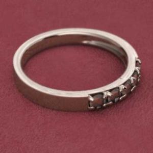 指輪 10金ピンクゴールド 5ストーン ガーネット 1月誕生石|skybell|03