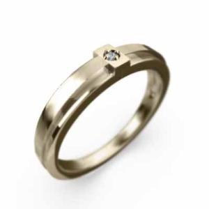 指輪 アクアマリン 十字架 一粒 K10 3月誕生石|skybell