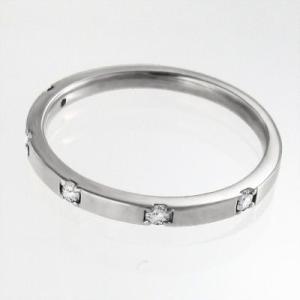 マリッジリングにも ファイブ ストーン ダイヤモンド 4月誕生石 白金(プラチナ)900|skybell|03
