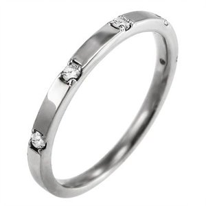 マリッジリングにも ファイブ ストーン ダイヤモンド 4月誕生石 白金(プラチナ)900|skybell|04