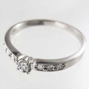 19c12f737855 Pt900・リング・婚約指輪にも・天然ダイヤ・4月誕生石 :rd-0172pt ...