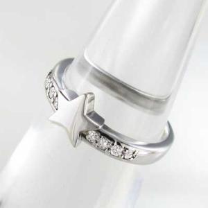 ダイヤモンド リング スター ジュエリー 18kホワイトゴールド 4月誕生石|skybell|05