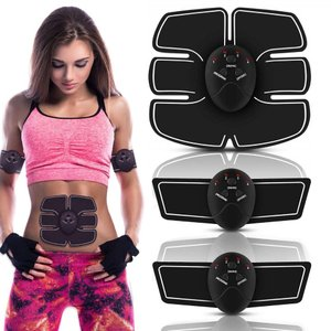 EMS 腹筋ベルト  腹筋マシン 筋トレーニング ダイエット器具 電池交換式  筋トレ器具 お腹 腰部 腕 筋トレーニング|skybird