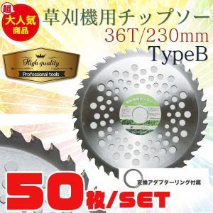 草刈機の交換用チップソー50枚セット(230mm - 36T)TypeB|skybreath