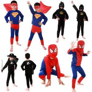 ◆商品名:ハロウィン 子供服 男の子 バットマン スパイダーマン スーパーマン コスプレ衣装 イベン...