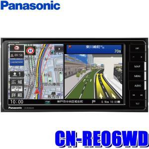 CN-RE06WD パナソニック ストラーダ 7インチWVGA SDメモリーナビ 200mmワイド ...