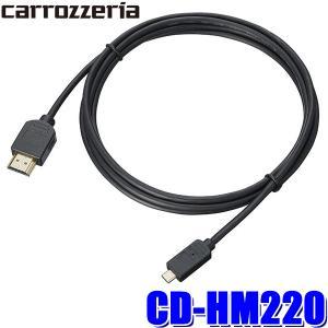 CD-HM220 カロッツェリア HDMIケーブル2m TypeAオス-TypeDオス|スカイドラゴンオートパーツストア