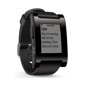 Pebble E-Paper Watch for iPhone and Android 【Kickstarterエディション】 ブラック並行輸入品|skygarden